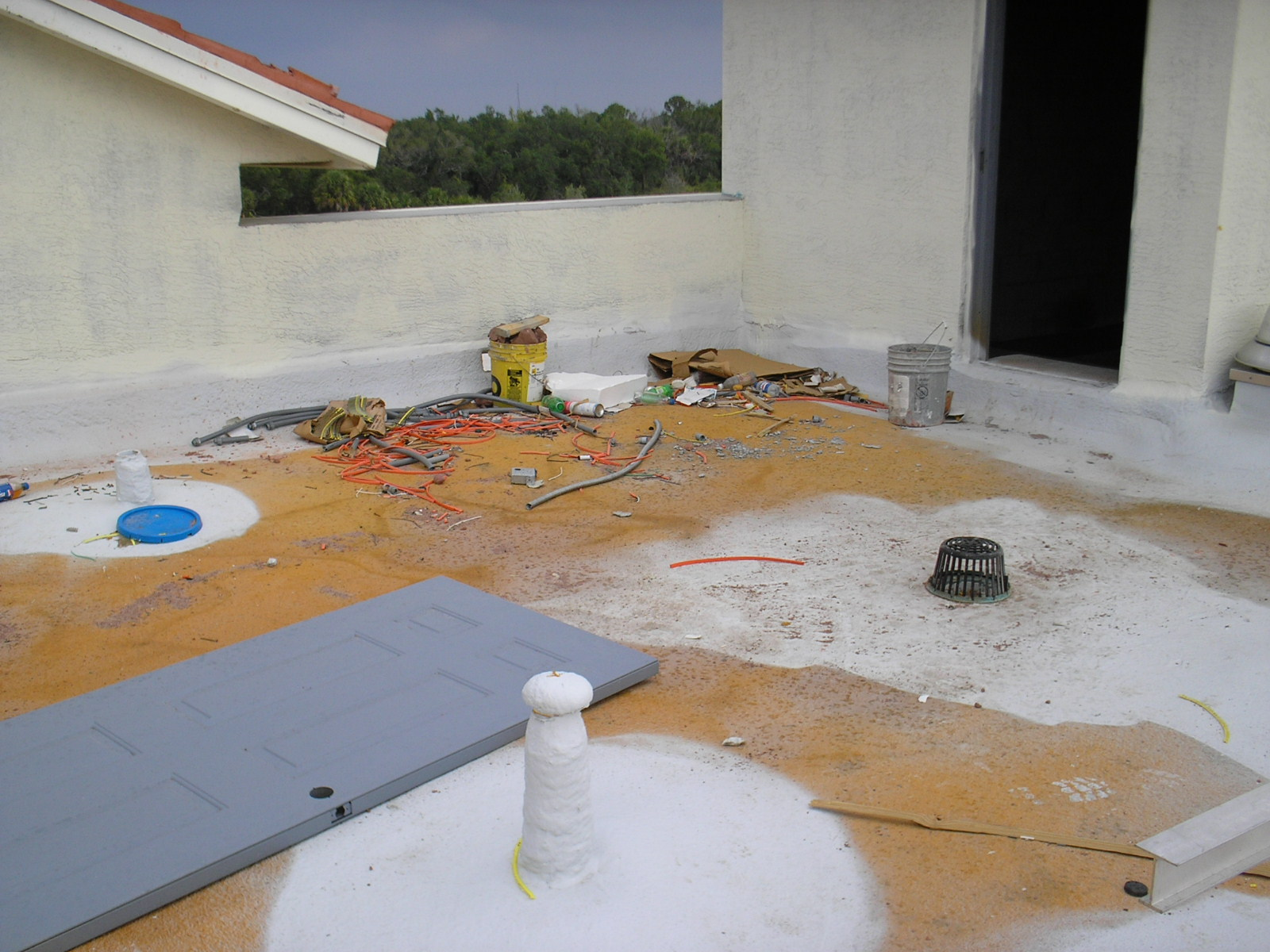 Terraces On The Green Spf Commercial Roofing